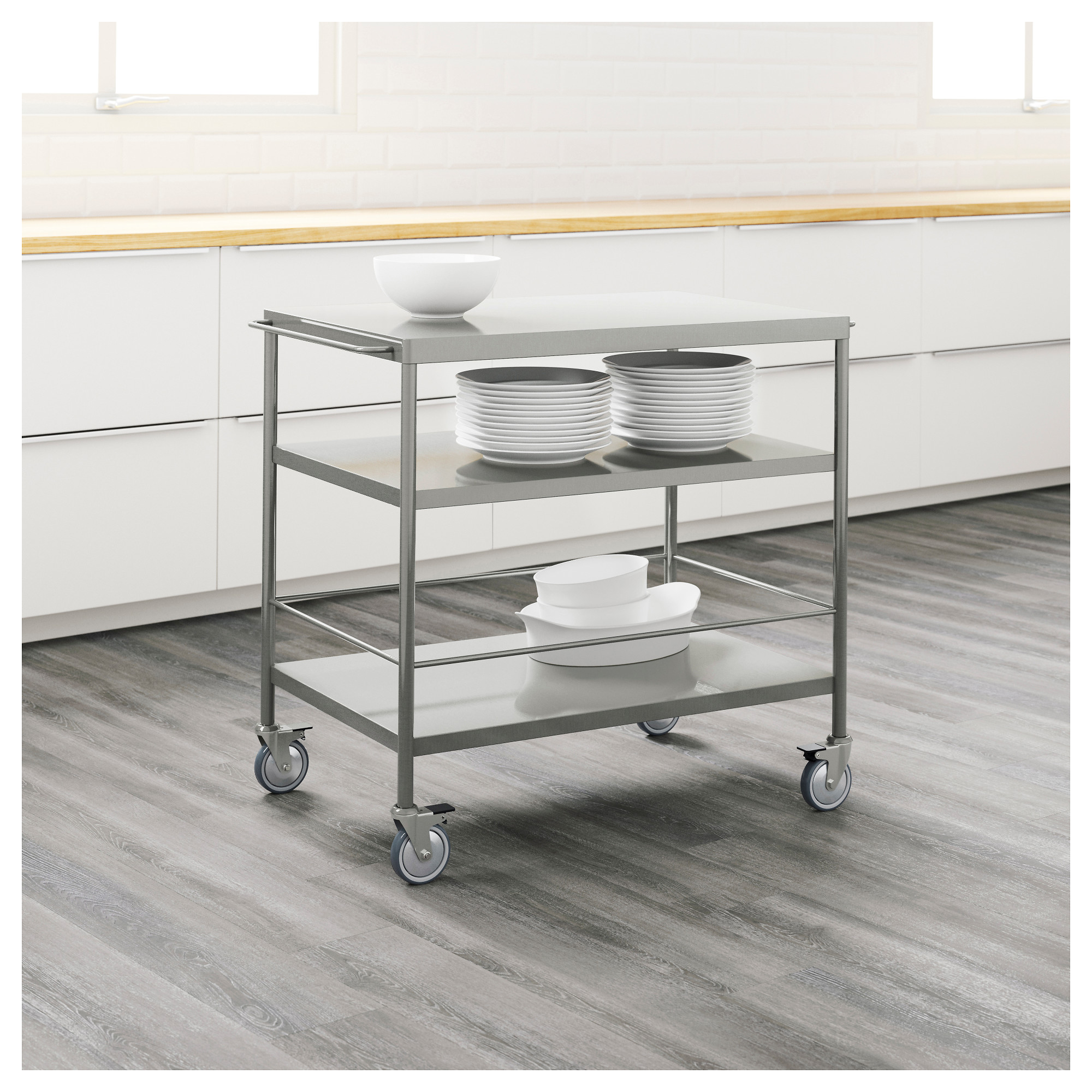 Ikea Kitchen Storage Cart Flytta Kitchen Cart Ikea