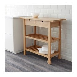 FÖRHÖJA Kitchen Cart, Birch. IKEA FAMILY