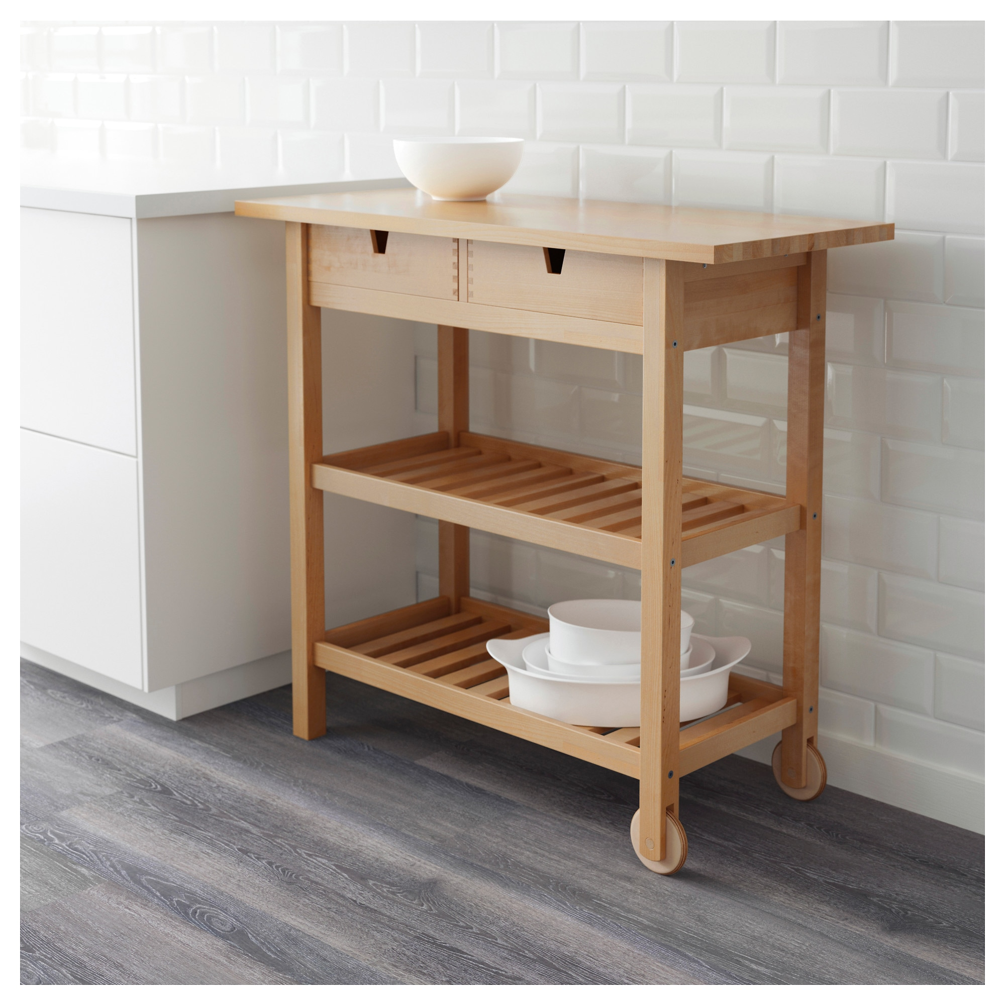 Granite Top Kitchen Trolley
