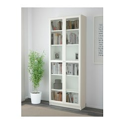 BILLY OXBERG Bookcase White