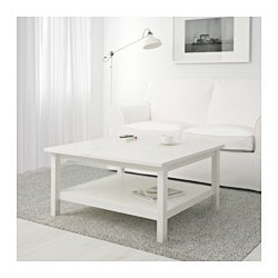 HEMNES coffee table, white stain
