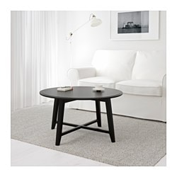 KRAGSTA coffee table, black