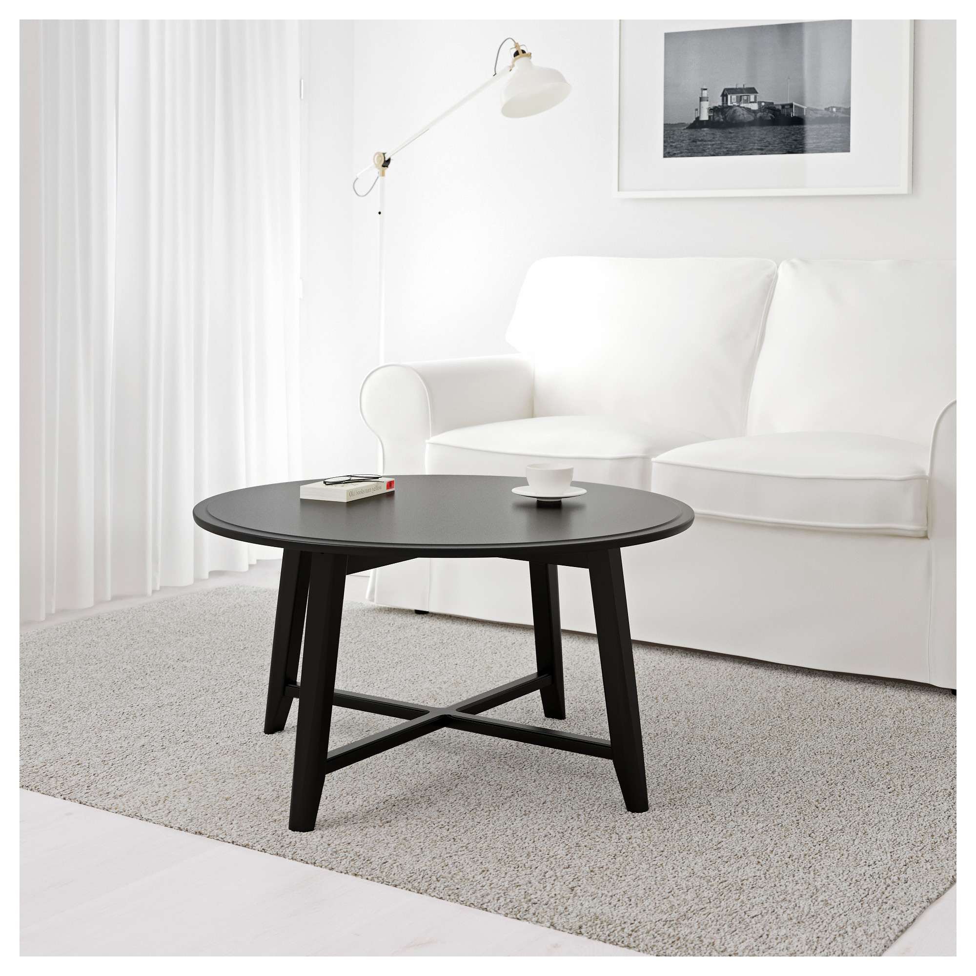 Kragsta coffee table white ikea geotapseo Image collections