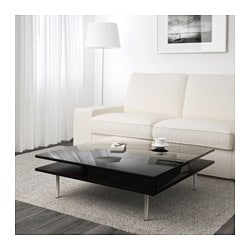 TOFTERYD coffee table, high-gloss black