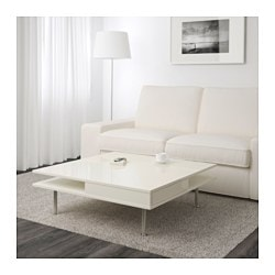 Beautiful TOFTERYD Coffee Table, High Gloss White