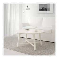 KRAGSTA coffee table, white