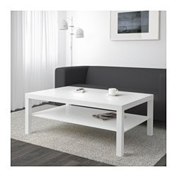 Lack Coffee Table White