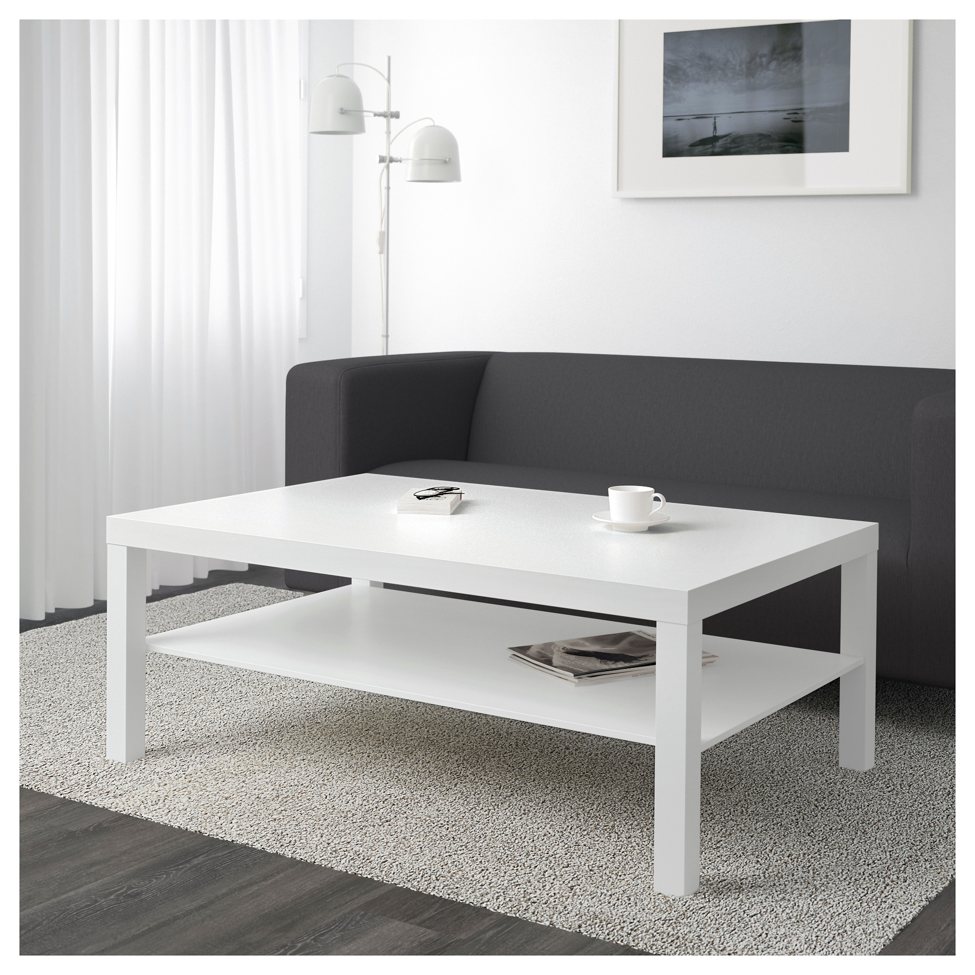 Lack coffee table white ikea geotapseo Image collections