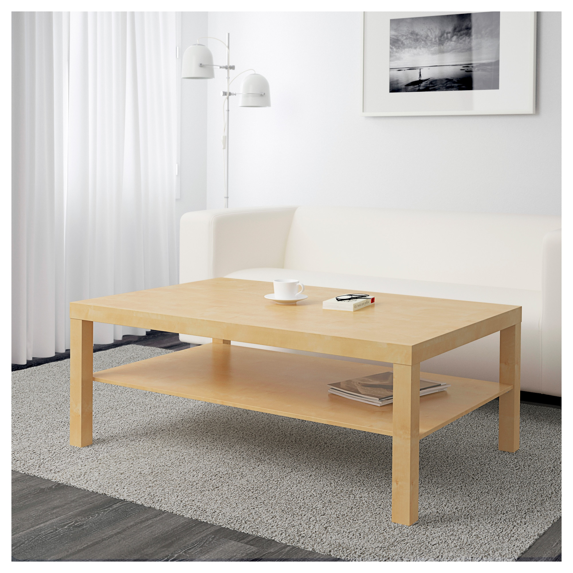 LACK Coffee table birch effect IKEA