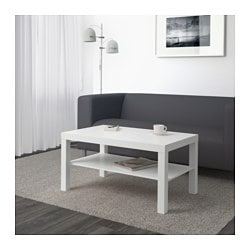 LACK coffee table, white