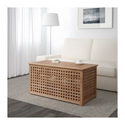 HOL storage table, acacia