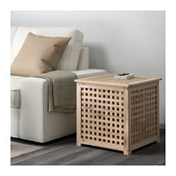HOL side table, acacia
