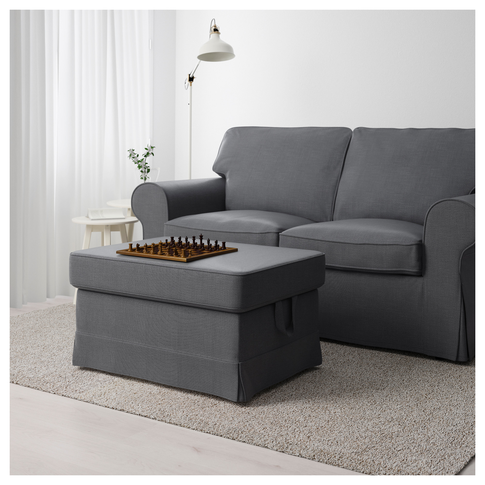 furniture gray a buy ashley santigo ottoman dark