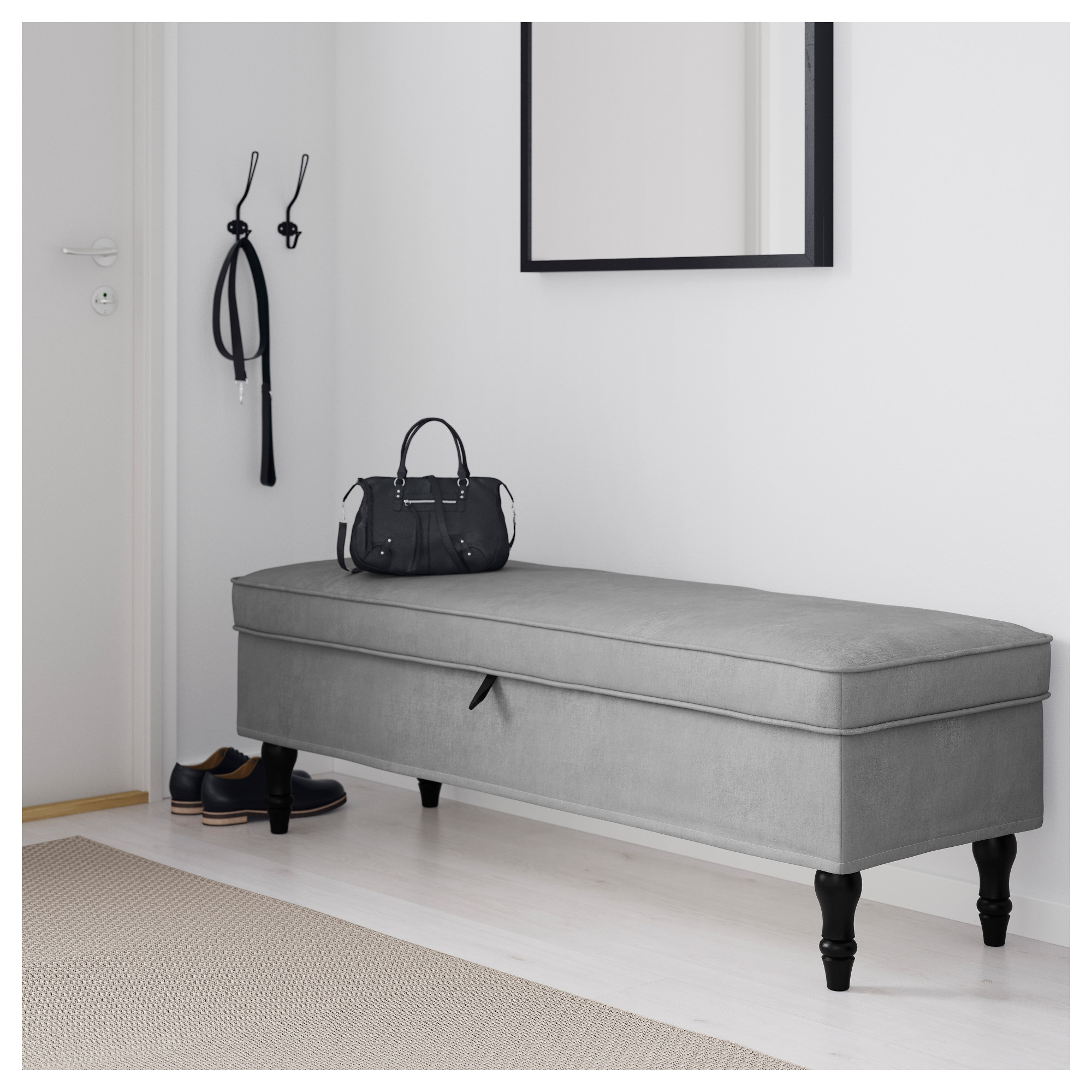 bedroom ikea with bench brusali frame of bed white storage ideas boxes
