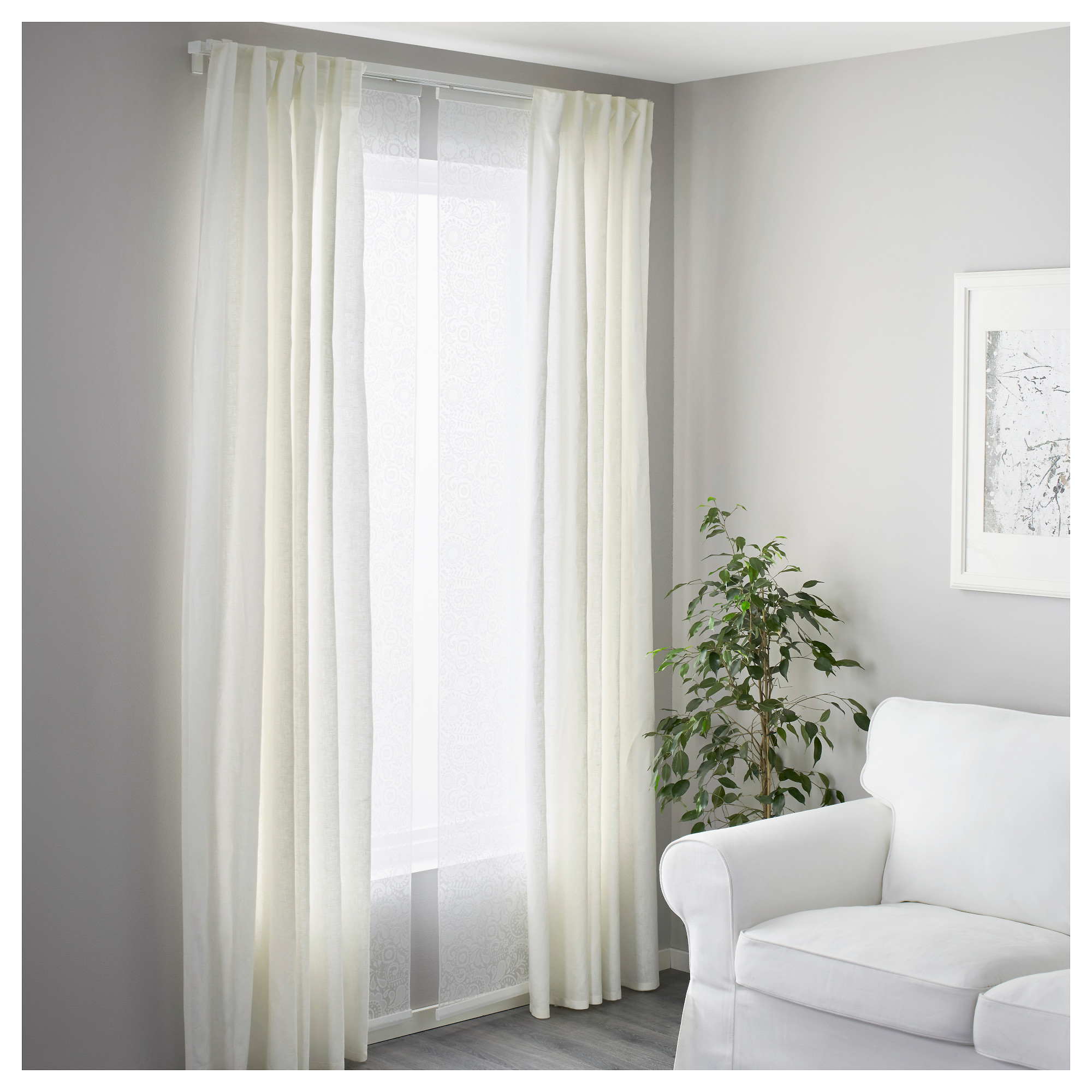 ceiling home curtains design ikea mount ideas track curtain