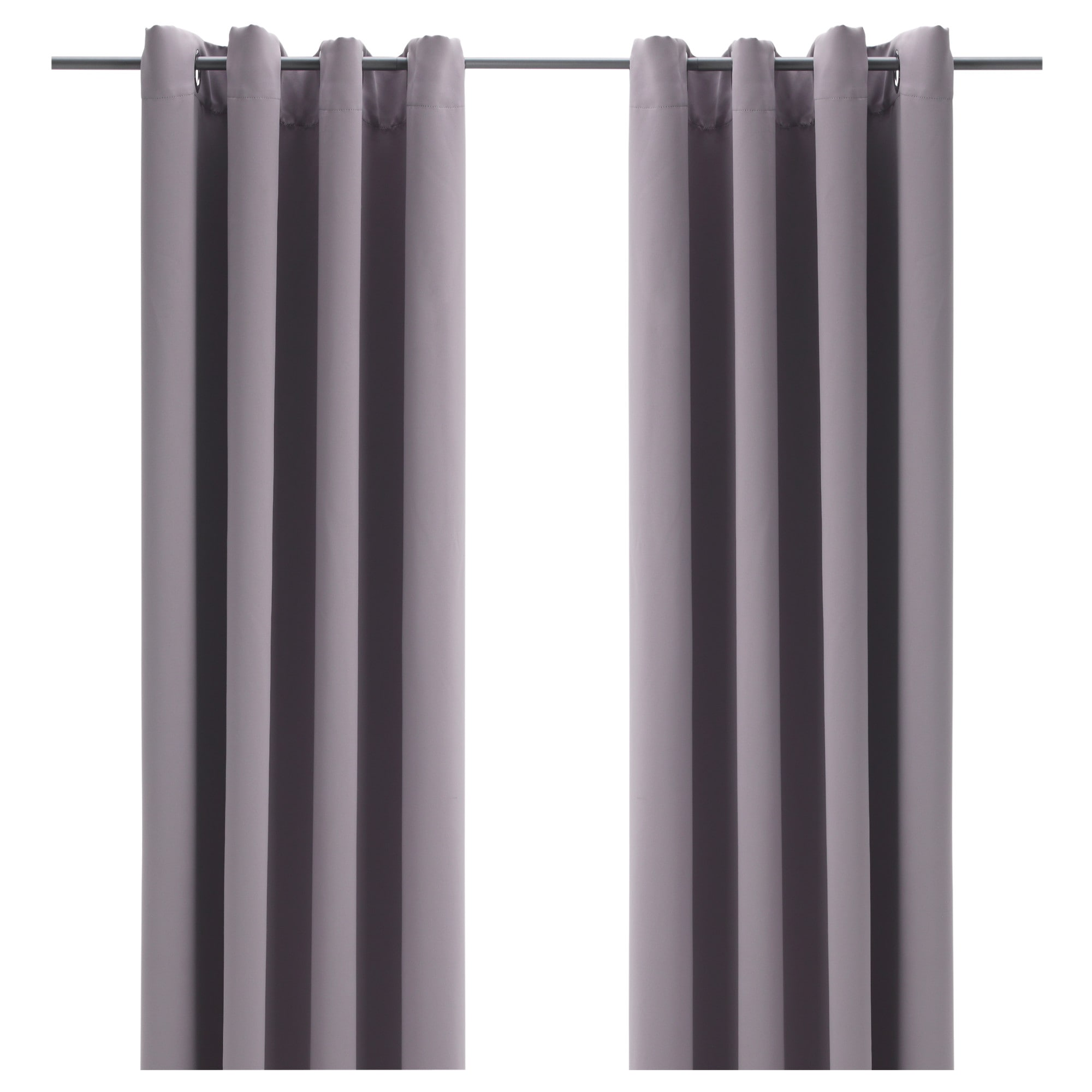 Curtains Bollolvon Blackout Curtains 1 Pair Ikea