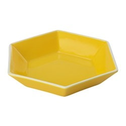 TOPPIGHET side plate, yellow Diameter: 17 cm