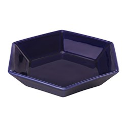 TOPPIGHET side plate, blue Diameter: 17 cm