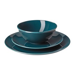Beau FÄRGRIK 18 Piece Dinnerware Set