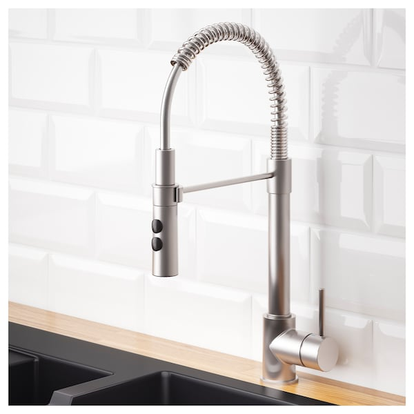 Kitchen Faucet With Handspray Vimmern Stainless Steel Color