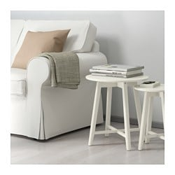 KRAGSTA nesting tables, set of 2, white