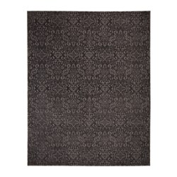 DYNT rug, low pile, gray