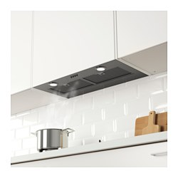 EVENTUELL Built In Extractor Hood, Stainless Steel