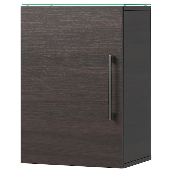 godmorgon wandschrank 1 t r schwarzbraun ikea. Black Bedroom Furniture Sets. Home Design Ideas