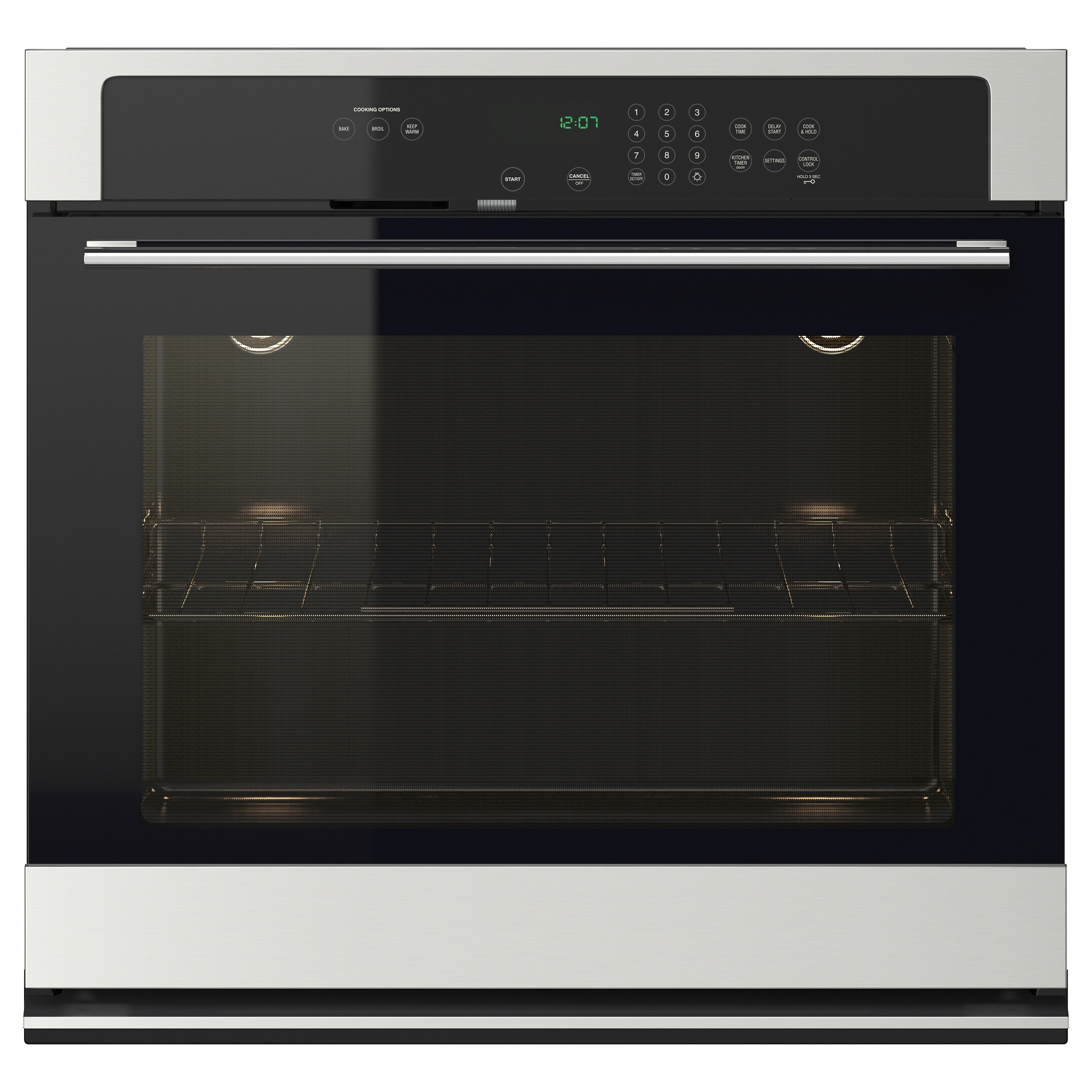 Side by side double oven cost - Nutid Thermal Oven Stainless Steel Width 30 Depth 26 3 8