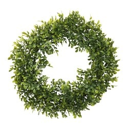 "SMYCKA artificial wreath, box Diameter: 17 ¾ "" Diameter: 45 cm"