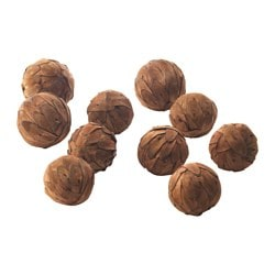 VINTER 2016 decoration, ball, brown Package quantity: 10 pack Package quantity: 10 pack