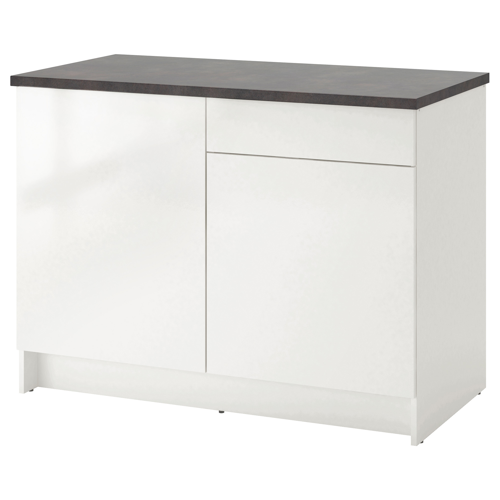KNOXHULT Base cabinet with doors and drawer - IKEA