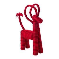 VINTER 2016 decoration, goat red Height: 33 cm