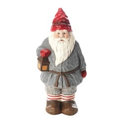 VINTER 2016 decoration, ceramic, Santa Claus Height: 26 cm
