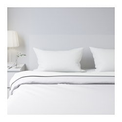 white bed sheets. DVALA Sheet Set White Bed Sheets