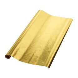 VINTER 2016 carta regalo, color oro Lunghezza: 2 m Larghezza: 0.7 m Superficie: 1.40 m²