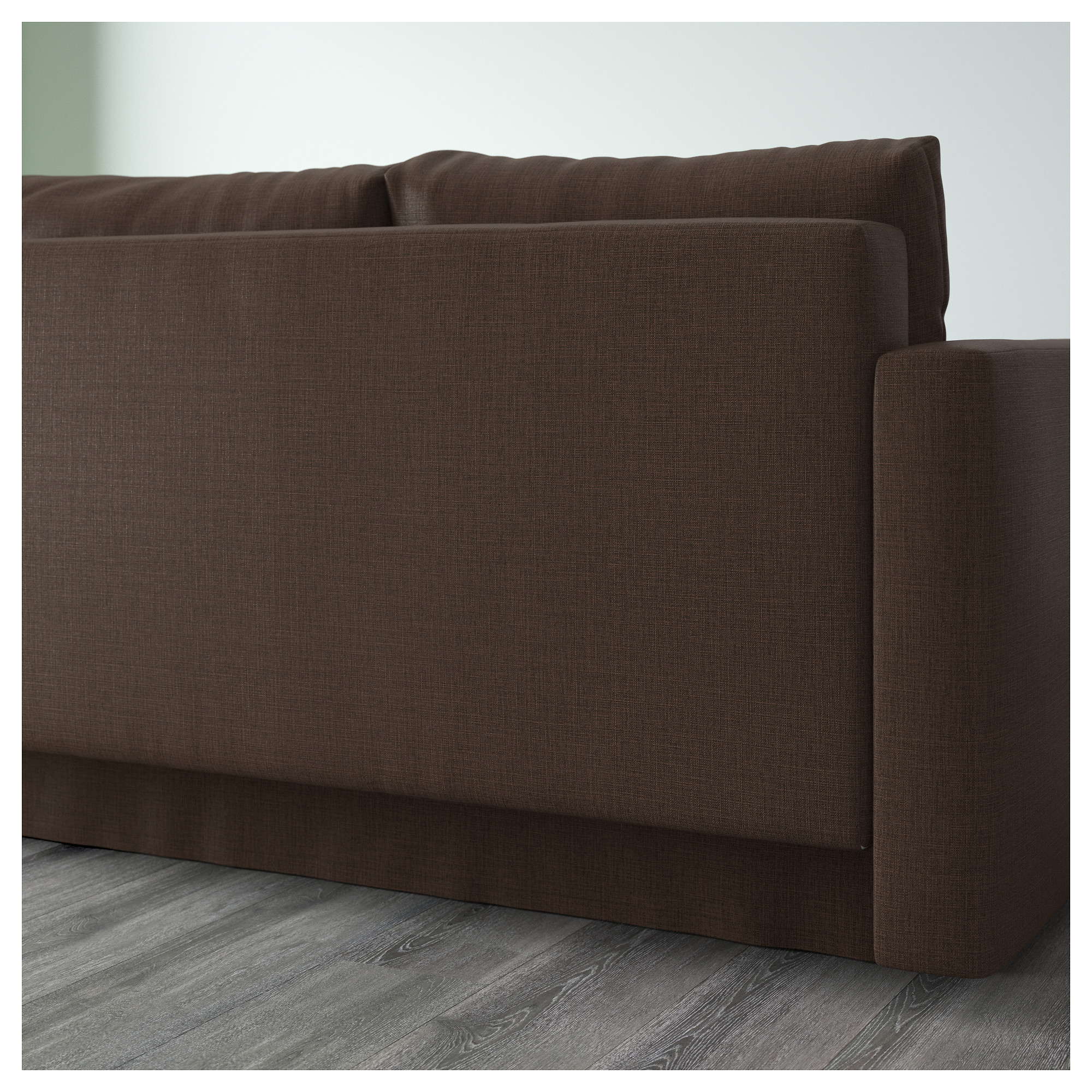 FRIHETEN Corner Sofa-bed With Storage - Skiftebo Beige - IKEA