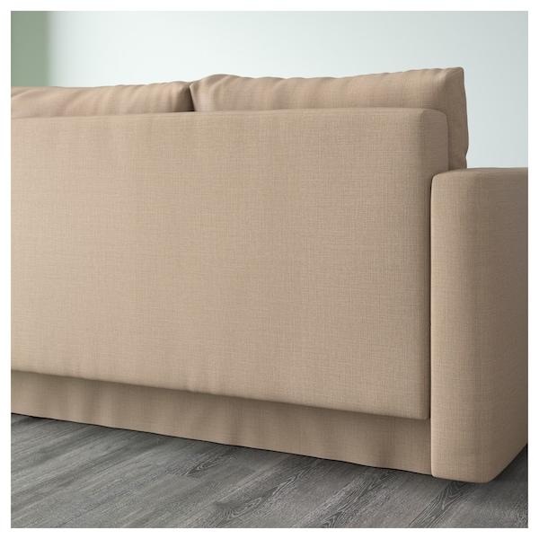 friheten eckbettsofa mit bettkasten skiftebo beige ikea. Black Bedroom Furniture Sets. Home Design Ideas