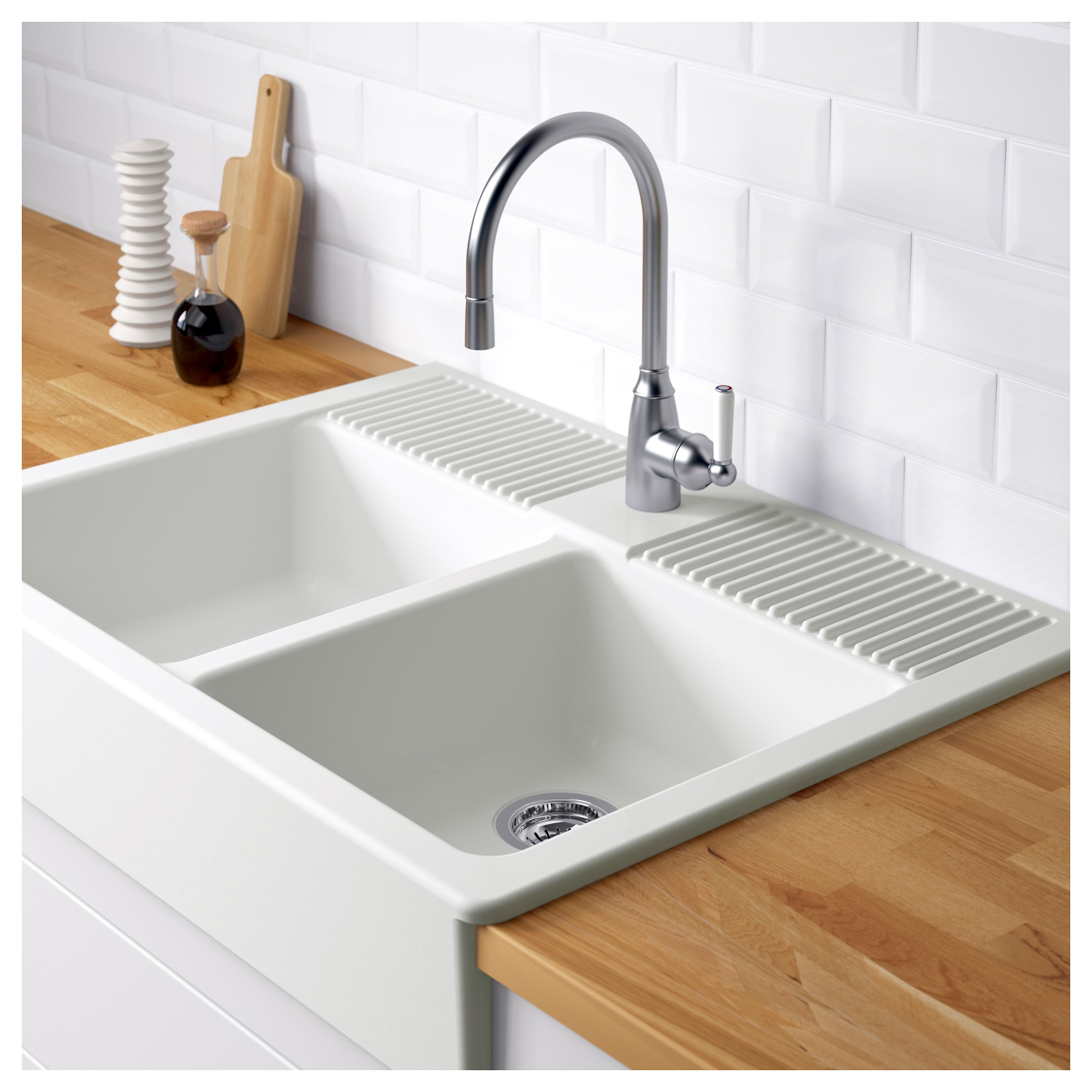 Ikea Farmers Sink: Ikea Domsjo Double Sink