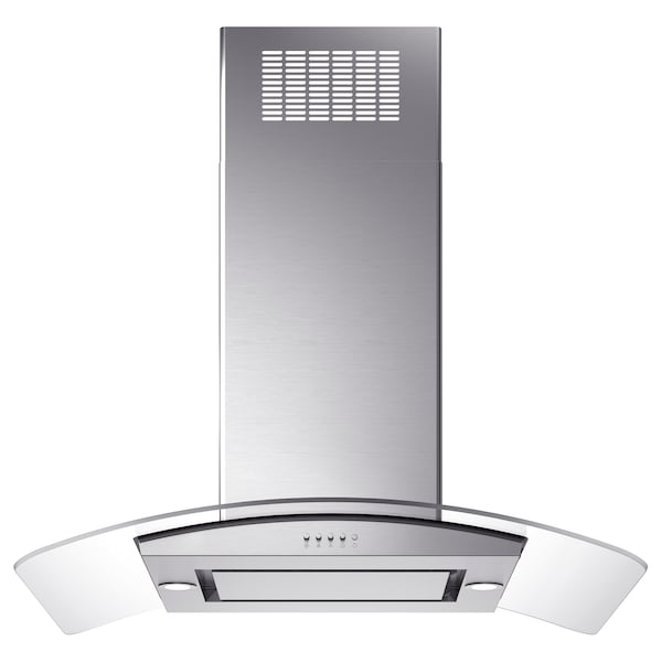 Ceiling Mounted Extractor Fan >> Ceiling Mounted Extractor Hood Oberoende Stainless Steel Glass