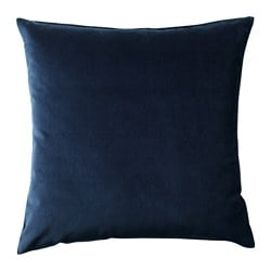 SANELA, Cushion cover, dark blue