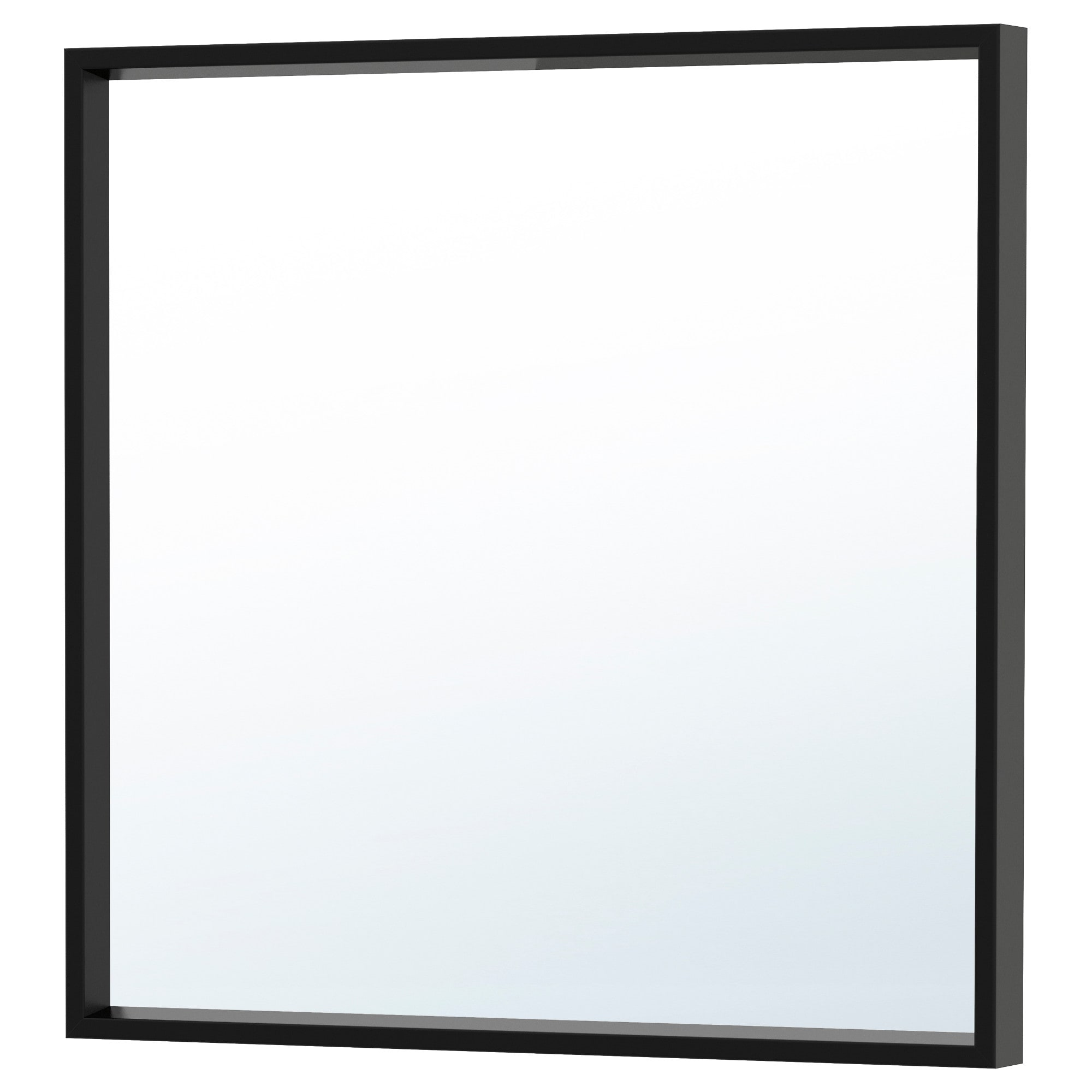 Wall mirrors ikea nissedal mirror black width 25 58 height 25 5 amipublicfo Image collections