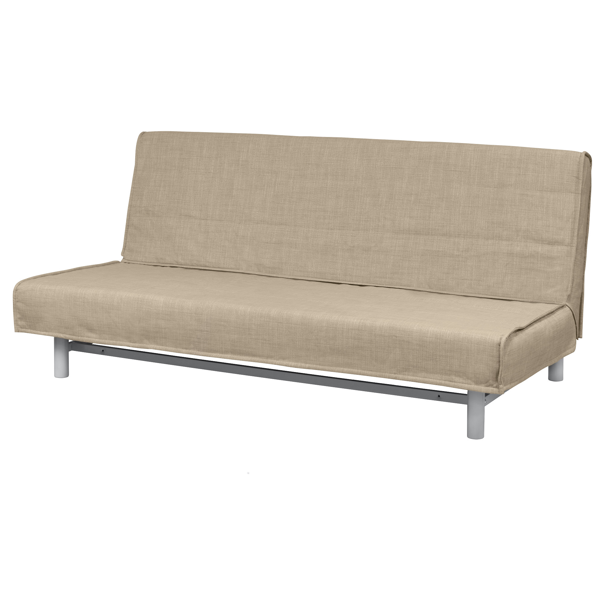 BEDDINGE Cover for sleeper sofa Knisa light gray IKEA