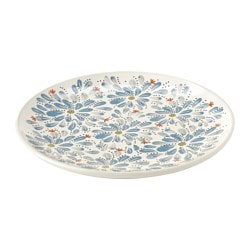 FINSTILT side plate, patterned Diameter: 22 cm