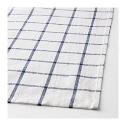 ELLY Dish Towel, White, Blue