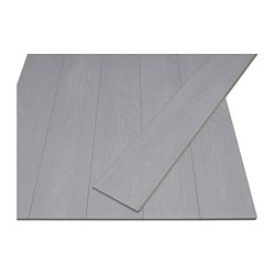 PRÄRIE laminated flooring, grey