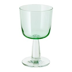 INTAGANDE wine glass, light green Height: 15 cm Volume: 26 cl