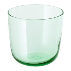 INTAGANDE glass, light green Height: 8 cm Volume: 26 cl