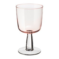 INTAGANDE wine glass, light pink Volume: 26 cl