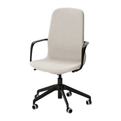 LÅNGFJÄLL Swivel Chair, Gunnared Beige, ...